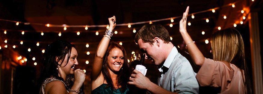 Raleigh Wedding at The Stockroom DJ2