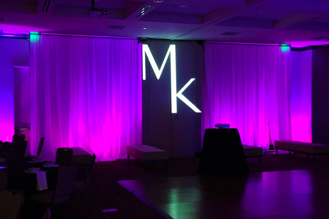 Corporate Event DJ - Projected Logo Package