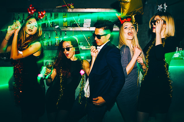 Private Event DJ Rates - Blacklights and Lasers Package