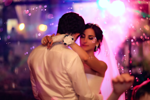 Wedding DJ Pricing - Dance Floor Lighting Package