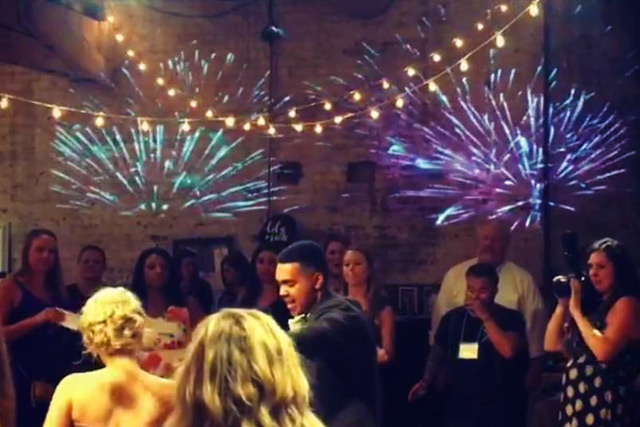 Wedding DJ Pricing - Fireworks Projection Package