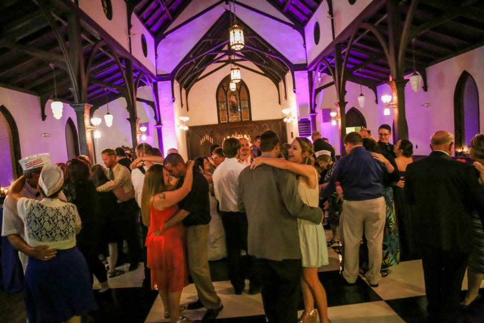 Hannah & Brandon DJ for Raleigh Wedding at All Saints Chapel Raleigh 7
