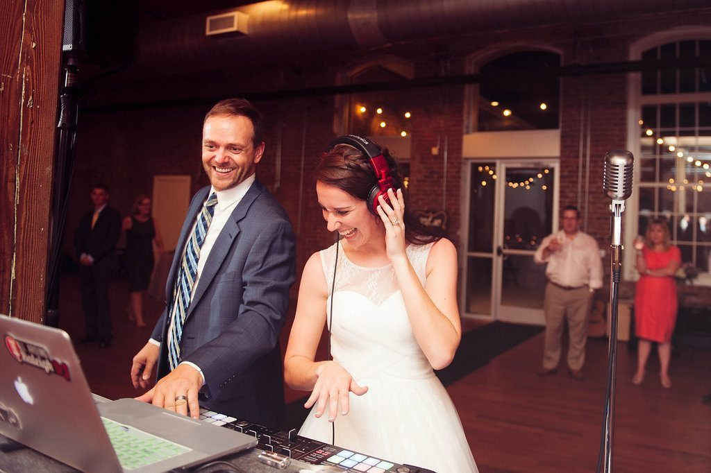 Katrina & Kalep by Sarah Morrel Photography at The Cloth Mill at Eno River