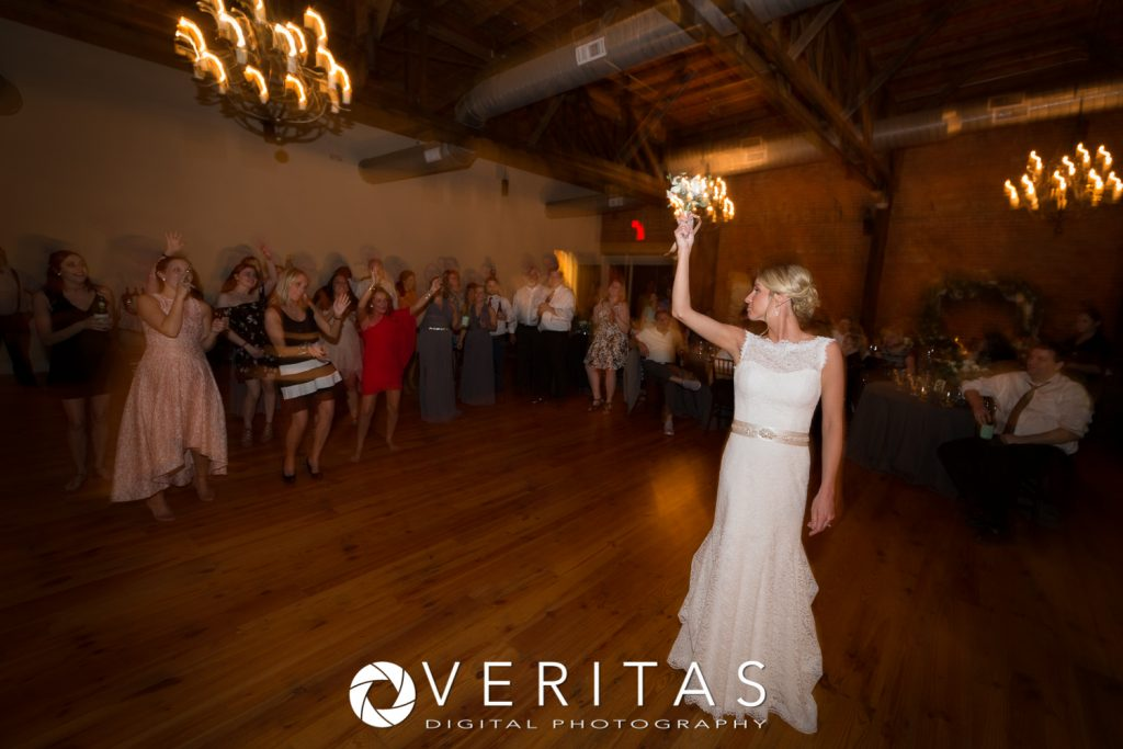 Wedding Bouquet Toss Raleigh DJ