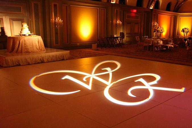 Wedding DJ Pricing - Projected Monogram Package