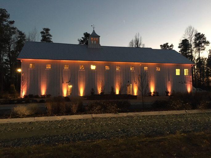 Raleigh Wedding DJ The Barn of Chapel Hill Durham Lighting