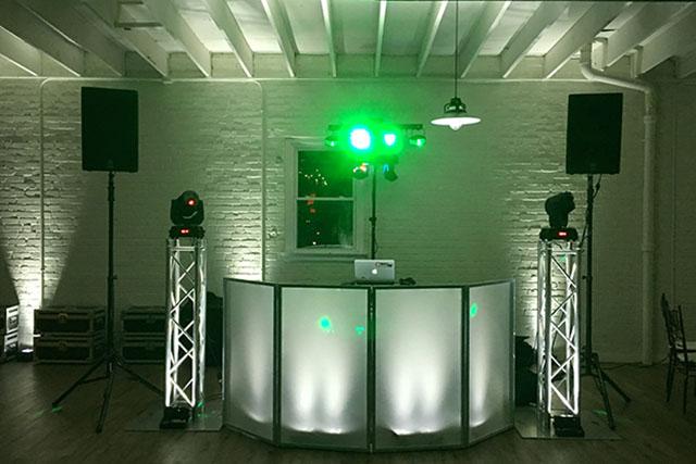 Wedding DJ Pricing - Upgraded Dance Floor Lighting Package