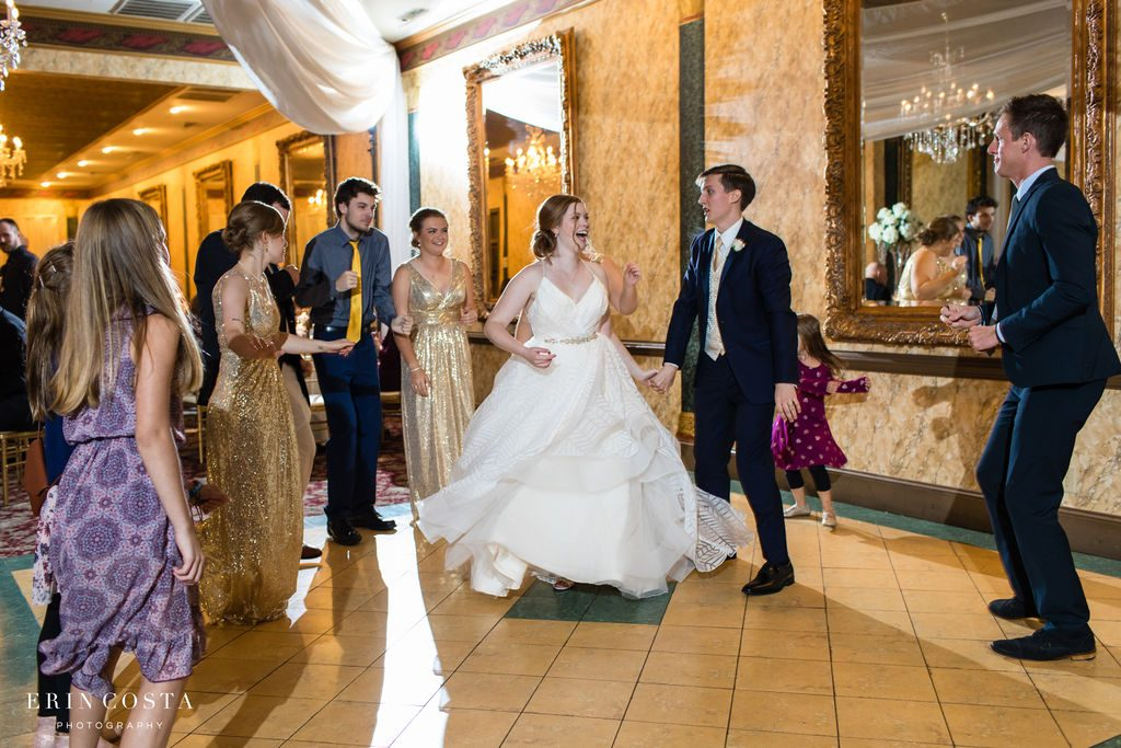Abby & Matt's Wedding at Preston Woodall House by Erin Costa Photography