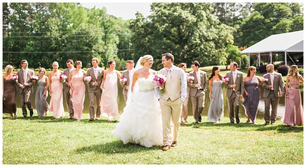 All Around Raleigh DJ The Oaks at Salem Wedding