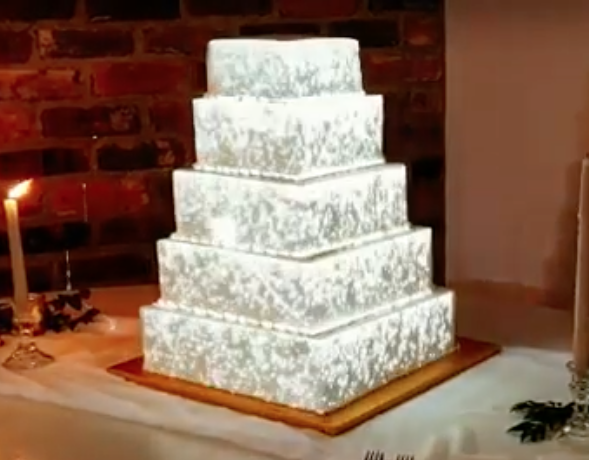 Wedding DJ Pricing - Projected Wedding Cake Mapping
