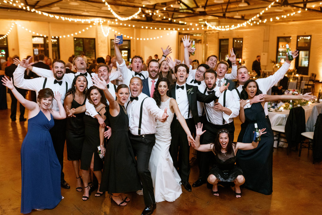 Liz + Trey Wedding Market Hall Raleigh All Around Raleigh DJ