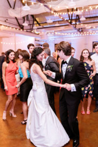 All Around Raleigh DJ Lebanese Wedding DJ Raleigh Uplighting Market Hall